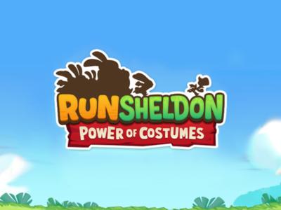 Run Sheldon - Lettering/Logo branding brand mobile game app lettering logo game