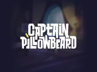 Captain Pillowbeard - Lettering/Logo series turkey animation casual bran logo lettering