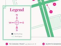 map - legend/front