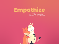 7 design principles empathize
