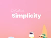 7 design principles simplicity