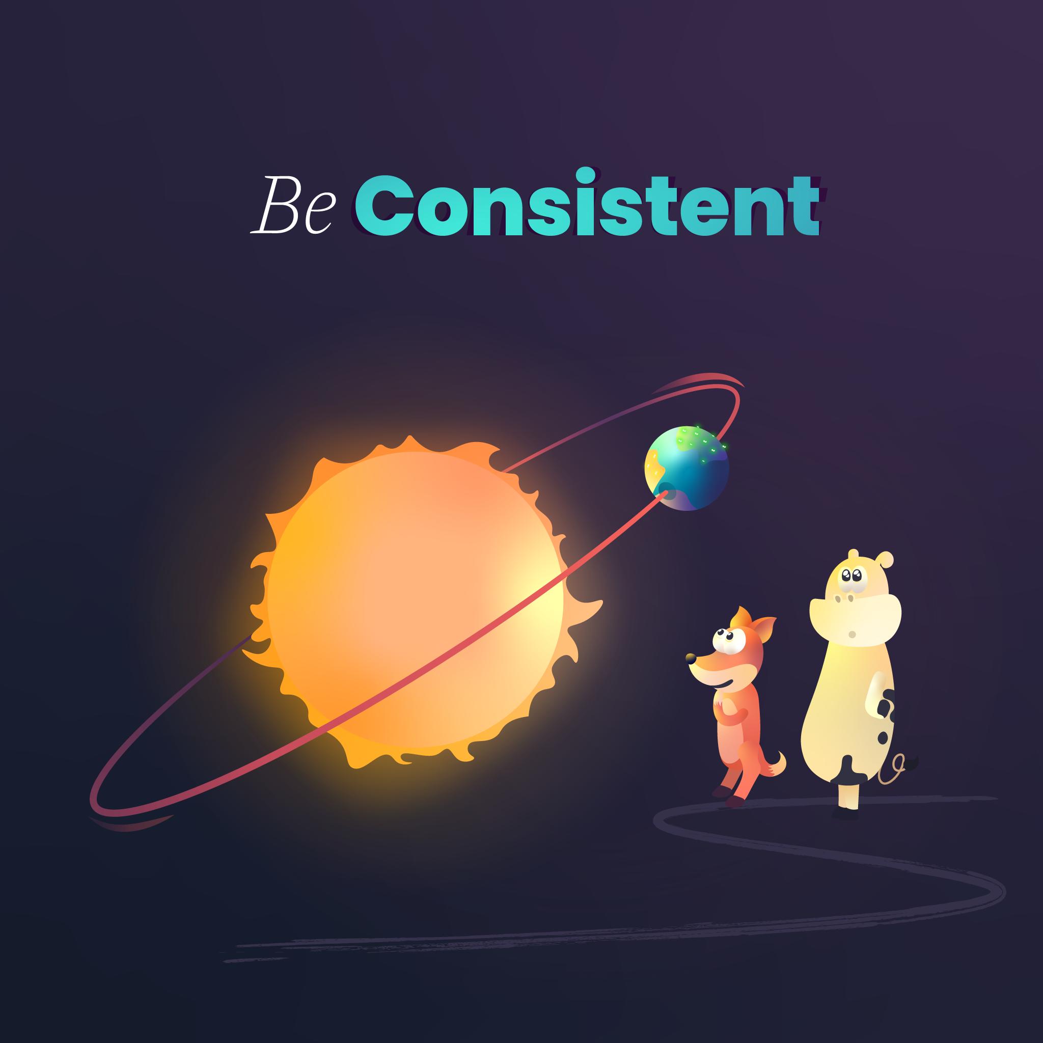 7 design principles consistency