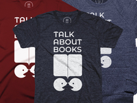 Talk About Books, Cotton Bureau t-shirt
