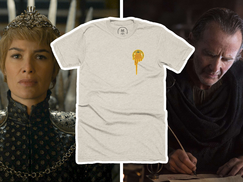 Hand of the King t-shirt story time cotton bureau vector t-shirt got game of thrones