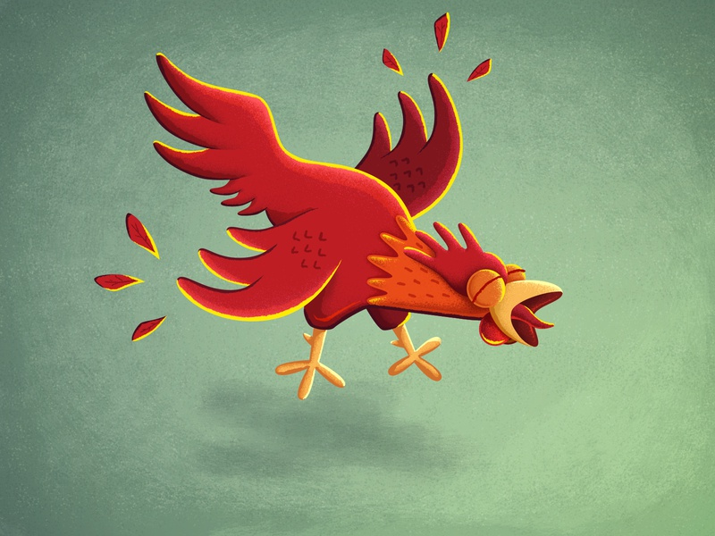 G'Morning, Rooster! crow character chicken rooster picture book illustration childrens book children book illustration children book