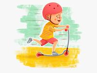 Kids On Wheels #1