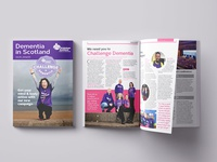 Dementia In Scotland Magazine, spring 2016