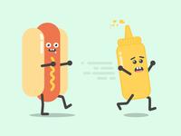 Hotdog & Mustard