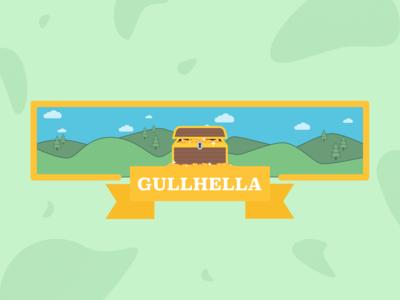 Gullhella // Snapchat geofilter