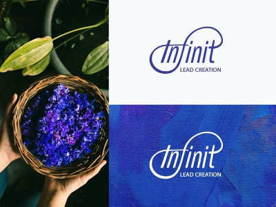 Infinit Lead Creation brand consulting logo corporate identity business logo clean design modern logo design brand identity logo branding