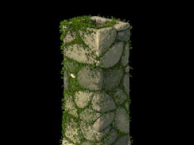 Procedural Cobblestone Chimney/Tower