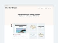 Head of House / Homepage