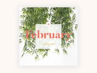 Instagram Monthly Goals Template