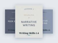 Writing Skills Blog Graphics Template