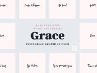 Grace Instagram Pack