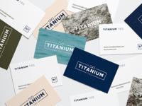 Titanium Ties Business Cards