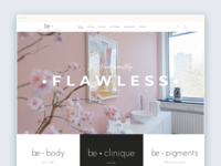 Be Clinique Website