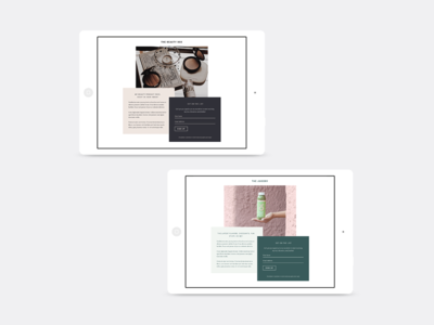 Convertkit Madison Landing Page Template typography custom sign up page newsletter sign up simple template landing page landingpage convertkit blog lifestyle minimal