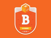 Bloc Alumni Sticker