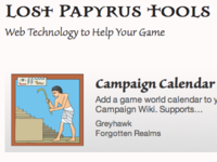 Lost Papyrus Game Tools