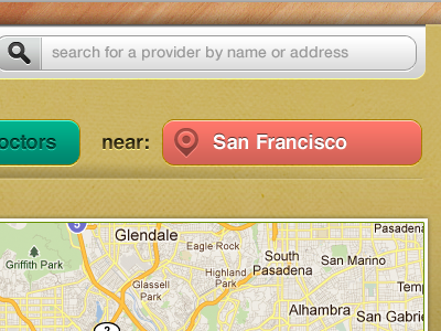 Location Based Service search location maps