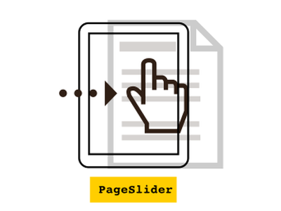 PageSlider icons infographic instructional