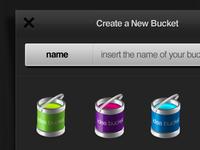 Create a New Bucket