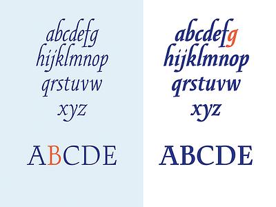 Novi Regular & Black roman capitals lowercase italics typeface type@paris novi typedesign