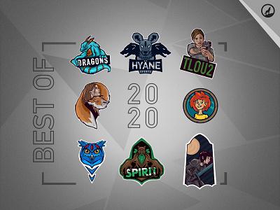 My best mascot designs of 2020 branding gaming gregorsart illustration mascot esports