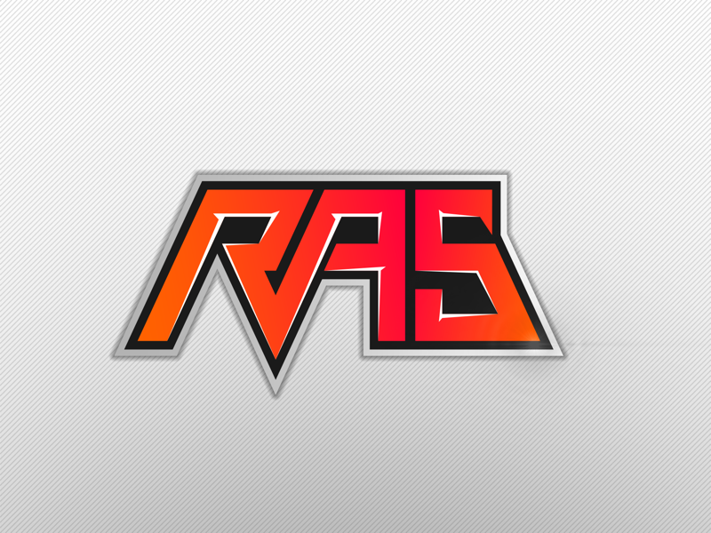 RAS — pitch typedesign type gregorsart logo branding esport esports sports sport