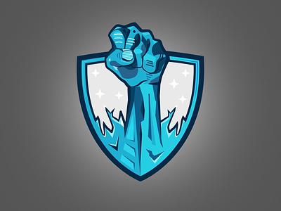 icy logo gregorsart illustration gaming mascot sports esports