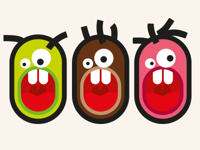 characters for music festival character illustration vector print