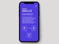Digital Agency Landing Page Skills