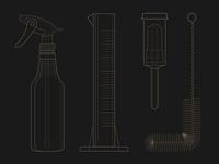 Brewing Illustrations