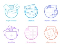 Page Builder Icons