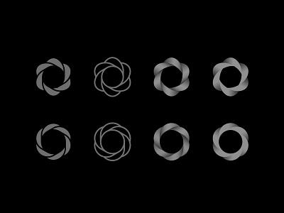 Bloom - Logo Exploration logo icon flower radial circle illustrator branding