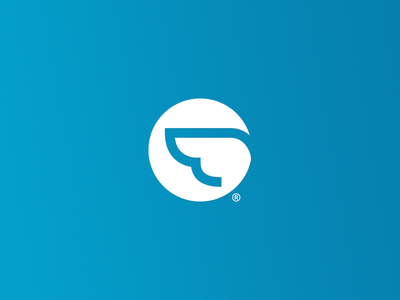 Airtasker - New Identity wing logo airtasker