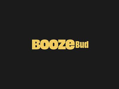 BoozeBud · Branding branding design black and yellow logotype branding brand identity branding brand identity design