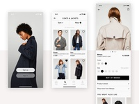 iOS E-Commerce Concept