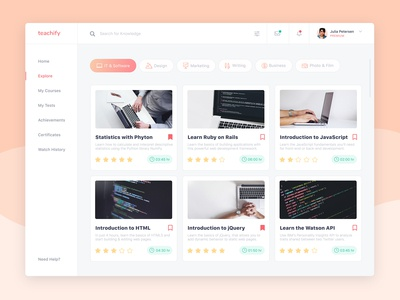 E-Learning Desktop App