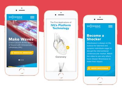 Mobile Website website design mobile design