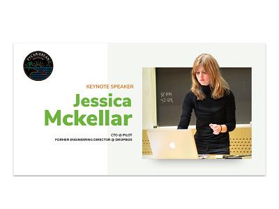 PyCaribbean 2018 - Keynote Speaker Card social media cards keynote speakers conference