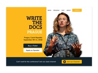 Write The Docs Conference Concept