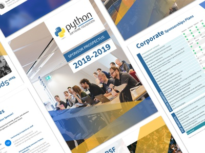 Python Prospectus design print
