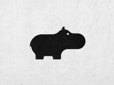World Hippo Day - #WorldHippoDay Logo Design
