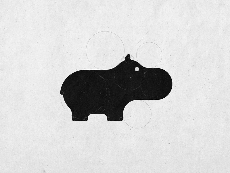 World Hippo Day - #WorldHippoDay Logo Design hippologo symbol designer mark logo designer logodesign