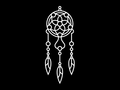 Dreamcatcher - Illustrative Logo Design