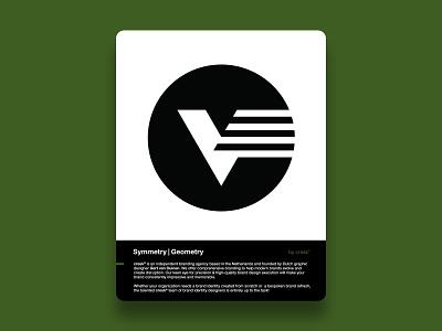 V-Mark gert van duinen geometry custom logo design monogram icon designer symbol designer branding identity identity designer brandmark mark logo designer logo design logo