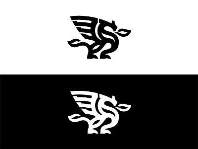 Dragon custom logo design monoline dragon icon designer branding symbol designer animal identity identity designer brandmark mark logo designer logo design logo