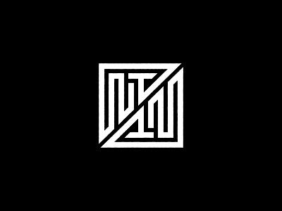 Nowhere Together symmetry monogram design custom logo design geometry monogram typography symbol designer identity branding identity designer brandmark mark logo designer logo design logo
